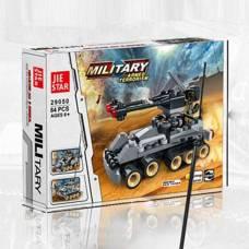 Конструктор 3 в 1 Military, 84 детали Shenzhen Toys
