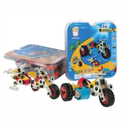 Конструктор Build & Play с инструментом, 3 модели Shenzhen Toys