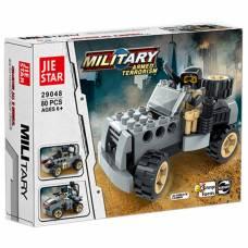 Конструктор Military, 80 деталей