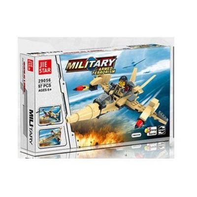 Конструктор Military 3 в 1, 97 деталей Jie Star
