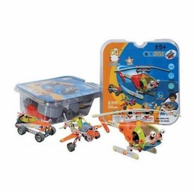Конструктор Build & Play с инструментом, 4 модели    Shenzhen Toys