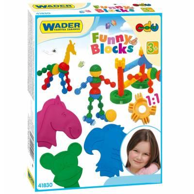 Конструктор Funny blocks, 36 деталей Wader