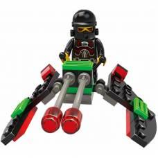 Конструктор Space - Космический истребитель, 34 деталей Sluban