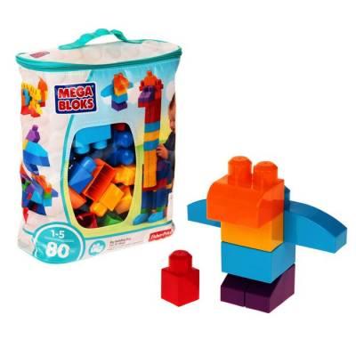 Конструктор «Мой первый конструктор», 80 деталей Mattel