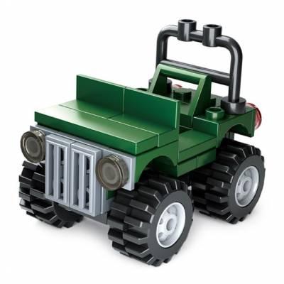 Конструктор Builder - Джип, 41 деталь Sluban