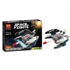 Конструктор Space Fights - Космолет, 77 деталей BELA