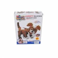 Конструктор Variety Blocks - Собака, 45 деталей