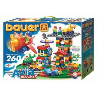Конструктор Avia Blocks, 260 деталей Bauer
