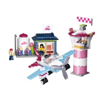 Конструктор Girls Dream - Маленький аэропорт, 284 детали  Sluban