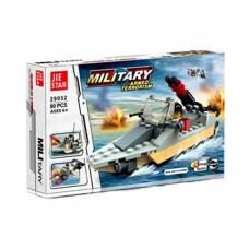 Конструктор Military 3 в 1, 80 деталей