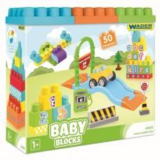 Конструктор Baby Blocks, 50 элементов Wader