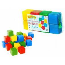 Набор разноцветных кубиков, 8 шт Класата