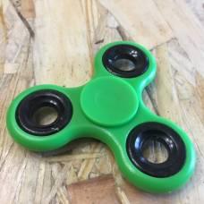 Пластиковый спиннер для рук, зеленый