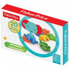Напольная мозаика Fisher Price, 20 элементов  Нордпласт