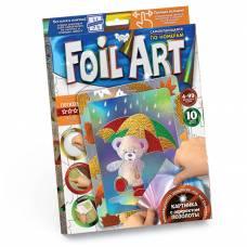 Аппликация цветной фольгой Foil Art - Мишка с зонтиком Данко Тойс / Danko Toys
