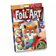 Аппликация цветной фольгой Foil Art - Лисенок  Данко Тойс / Danko Toys