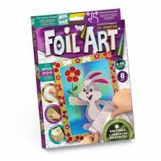 Аппликация цветной фольгой Foil Art - Зайка Данко Тойс / Danko Toys