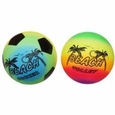 Надувной пляжный мяч, 22 см Shantou