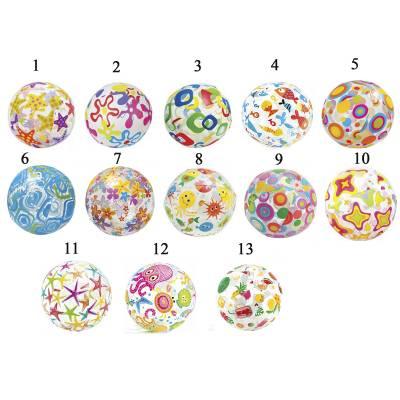 Надувной мяч Lively Print Balls, 51 см Intex