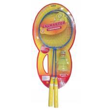 Набор для игры в бадминтон Sport с ракетками и двумя воланчиками ABtoys
