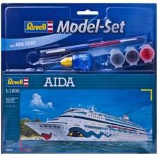 Подарочный набор со сборной моделью корабля Aida, 1:1200 Revell