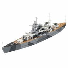 Подарочный набор со сборной моделью линейного крейсера Scharnhorst, 1:1200 Revell