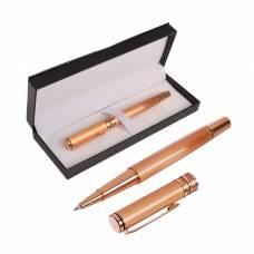 Ручка подарочная, шариковая, в кожзам футляре, «Оригинал», корпус золотистый Calligrata