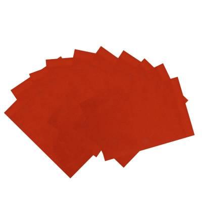 Декоративный фетр Soft, темно-оранжевый, 10 листов Мир Рукоделия