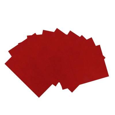 Декоративный фетр Soft, красный, 10 листов Мир Рукоделия