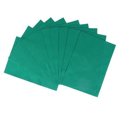 Декоративный фетр Soft, зеленый, 10 листов Мир Рукоделия
