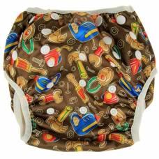 Многоразовый подгузник для плавания «Конопуша» Мастер на все руки, 4-18 кг Конопуша