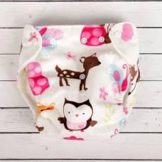 Многоразовый подгузник «Для малышек», на кнопках, цвета МИКС Sima-Land