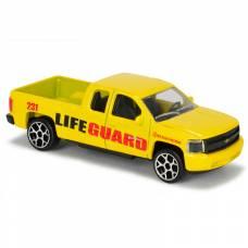Игрушечный автомобиль SOS - Патрульная машина, желтая, 7.5 см Majorette