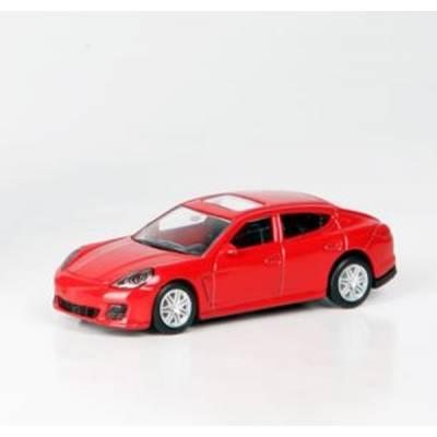 Коллекционная машинка RMZ City Junior - Porsche Panamera Turbo, красная, 1:64 RMZ City