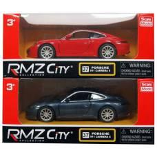 Инерционная коллекционная машинка Porsche 911 Carrera S, 1:32 RMZ City