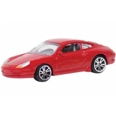Коллекционная машинка Porsche 911, красная MotorMax