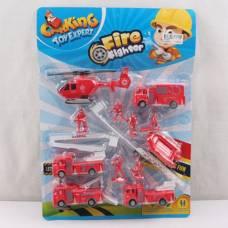 Игровой набор Fire Fighter - Пожарная техника с фигурками