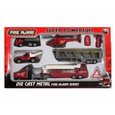 Набор пожарной техники Fire Alarm Junfa Toys