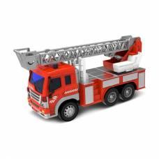 Инерционная пожарная машинка Fire Fighting (свет, звук), 1:16 WenYi
