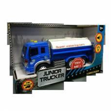 Инерционная машина Junior Tracker - Водовоз (свет, звук), 1:16 Dave Toys