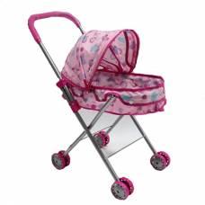 Металлическая коляска-люлька для кукол Yako Toys