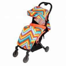 Прогулочная коляска Amber, цвет красный зигзаг Babyhit