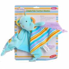 Одеяльце с прорезывателем