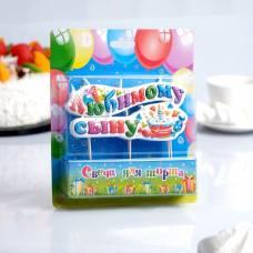 Свеча для торта на шпажках
