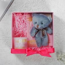 Набор подарочный с мягкой игрушкой