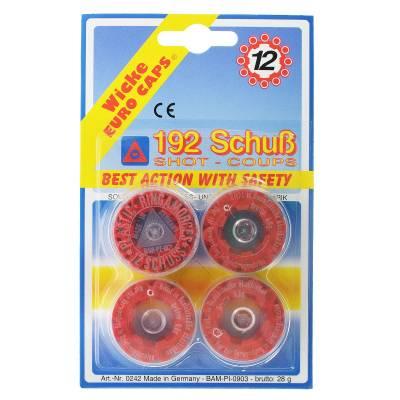 12-зарядные пистоны Wicke Euro Caps, 192 шт. Sohni-Wicke