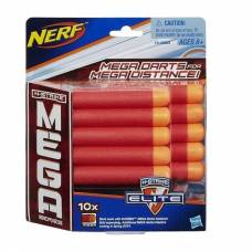 NERF: комплект 10 стрел для бластеров MEGA Hasbro