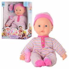 Кукла Мила - Ладошки (поет, двигается, пьет из бутылочки), 40 см Play Smart