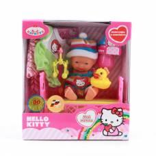 Пупс Hello Kitty с аксессуарами, 10 см Карапуз