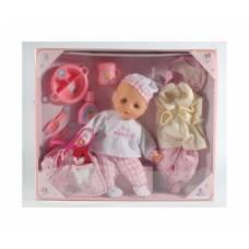 Пупс с одеждой и посудой Baby Darling, 27 см Shenzhen Toys